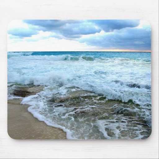 rough waters mousepad