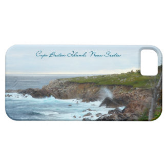 Rough Waters on Cape Breton Island iPhone SE/5/5s Case