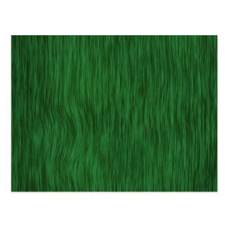 Rough Wood Grain Background - Green Postcard
