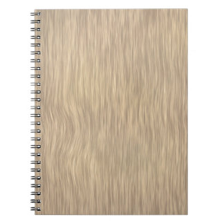 Rough Wood Grain Background in Faded Color Note Books