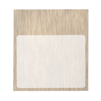 Rough Wood Grain Background in Faded Color Notepad