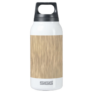 Rough Wood Grain Background in Faded Color Thermos Bottle