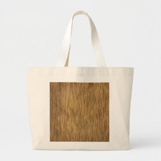 Rough Wood Grain Background in Natural Color Large Tote Bag