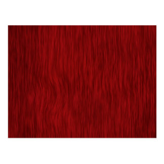 Rough Wood Grain Background - Red Postcard