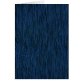 Rough Wood Grain Look Background Deep Blue Card