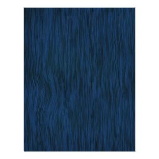 Rough Wood Grain Look Background Deep Blue Flyer
