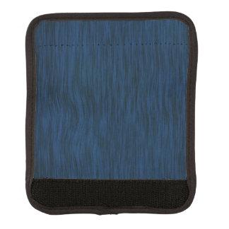 Rough Wood Grain Look Background Deep Blue Handle Wrap