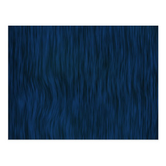 Rough Wood Grain Look Background Deep Blue Postcard