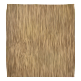 Rough Wood in Natural Finish Bandana