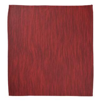 Rough Wood in Red Finish Bandana