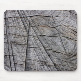 Rough wood mouse pad