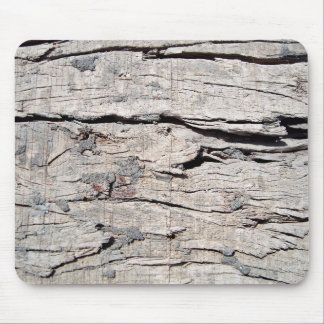 Rough Wood Surface Mouse Pad