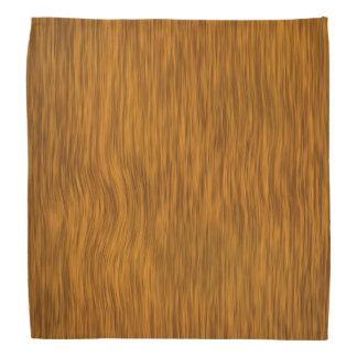Rough Wood with Golden Finish Bandana