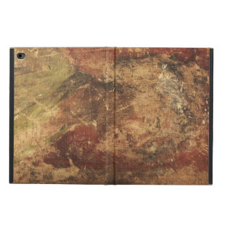 Rough Wooden Marbled Brown Grunge Texture Powis iPad Air 2 Case