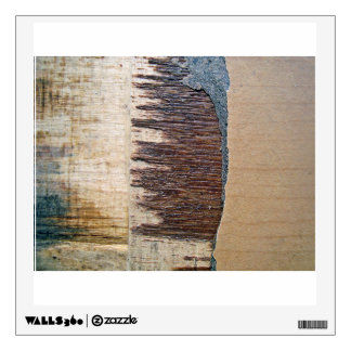 Rough Wooden Surface Room Stickers