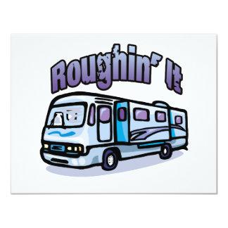 Roughin' It Card