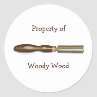Roughing Gouge Woodturning Customized Stickers