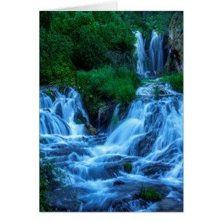 Roughlock Falls Spearfish Canyon Card
