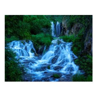 Roughlock Falls Spearfish Canyon Postcard