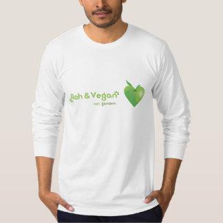 Roughly & vegan of whole heart (green apple heart) T-Shirt