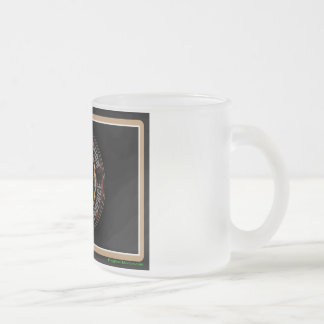Roughneck Nation Logo Rig Up Camo Frosted Glass Coffee Mug