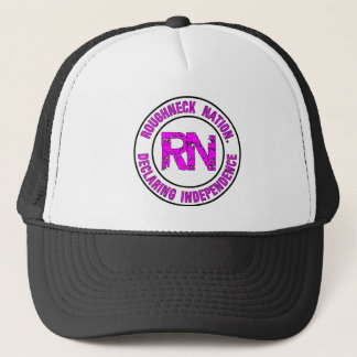 ROUGHNECK NATION LOGO TRUCKER HAT