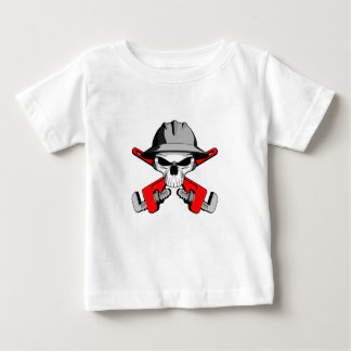 Roughneck Skull and Crossed Wrenches T-shirts