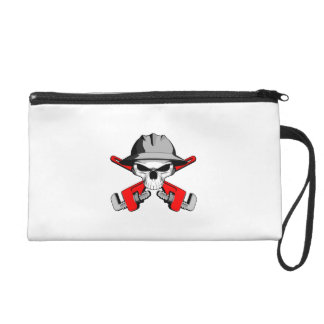 Roughneck Skull and Crossed Wrenches Wristlet