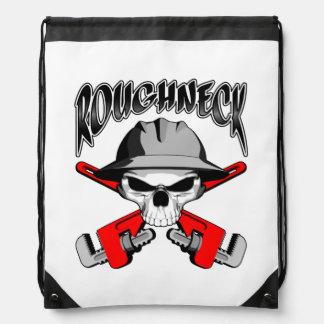 Roughneck Skull Drawstring Bags