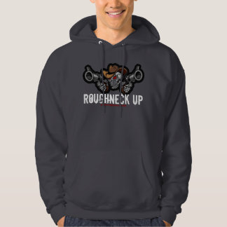 Roughneck up cowboy design hoodie