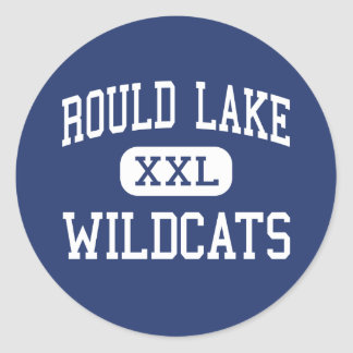 Rould Lake Wildcats Middle Round Lake Classic Round Sticker