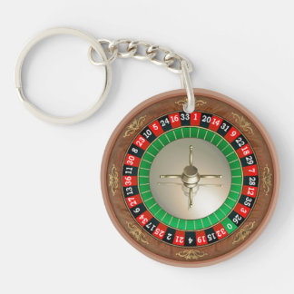 Roulette Acrylic Key Chain