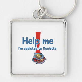 Roulette Addict's Keychain