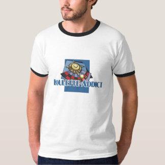 Roulette Addict's ringer-t T-Shirt
