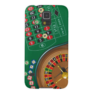Roulette Casino Gambling Table Galaxy S5 Case