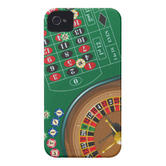 Roulette Casino Gambling Table iPhone 4 Case