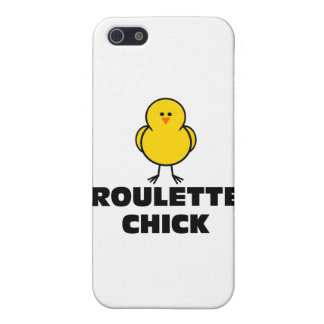 Roulette Chick iPhone 5 Covers