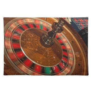 Roulette Game Money Casino Las Vegas Cloth Placemat
