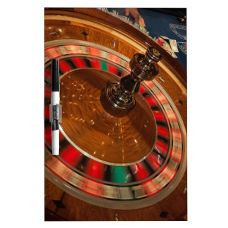 Roulette Game Money Casino Las Vegas Dry Erase Board
