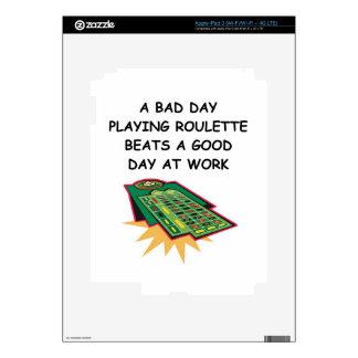 roulette iPad 3 skins