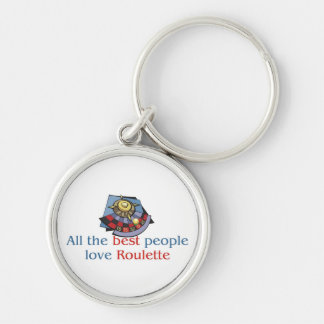 Roulette Lover's Keychain