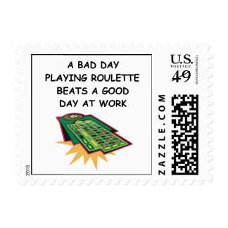 roulette postage stamp