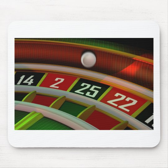 Roulette Rulet Casino Game Mouse Pad