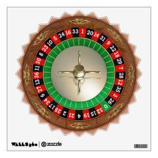 Roulette Starburst Wall Decal