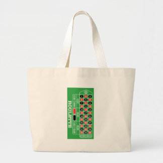 Roulette Table - Casino Gamble To Win Tote Bag