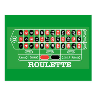 Card roulette video