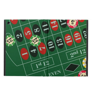 Roulette Table iPad Air Cases