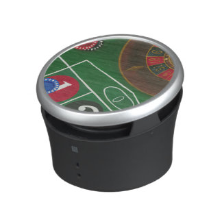 Roulette Table with Chips and Wheel Bluetooth Speaker