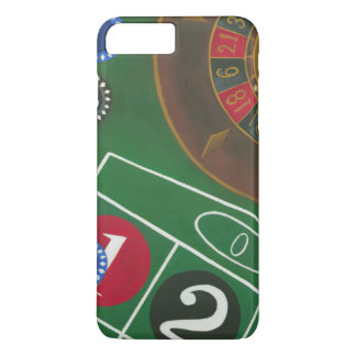 Roulette Table with Chips and Wheel iPhone 8 Plus/7 Plus Case