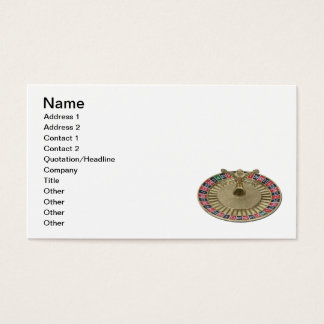 Roulette Wheel Business Card